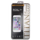 Titan Glass For Iphone 5 5S Depan Belakang 2In1 Premium Tempered Glass Rounded Edge 2 5D Asli