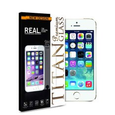 Titan Tempered Glass for HTC One M8 - Anti Gores - Rounded Edge 2.5D - Clear