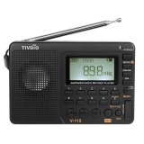 Review Pada Tivdio V 115 Fm Am Sw Radio Multiband Radio Receiver Rec Perekam Suara Bass Mp3 Player Speaker Dengan Tidur Timer Hitam Intl