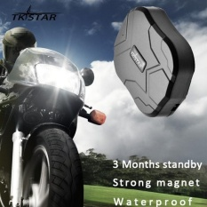 Spek Tkstar Series Waterproof Desain Besar Magnetic Power Car Gps Locator Gps Lbs Dual Mode Positioning Hitam Intl Tiongkok