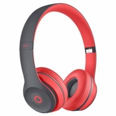 Katalog Tm 019 Solo 2 Wireless Bluetooth Pada Ear Headphone Merah Intl Terbaru