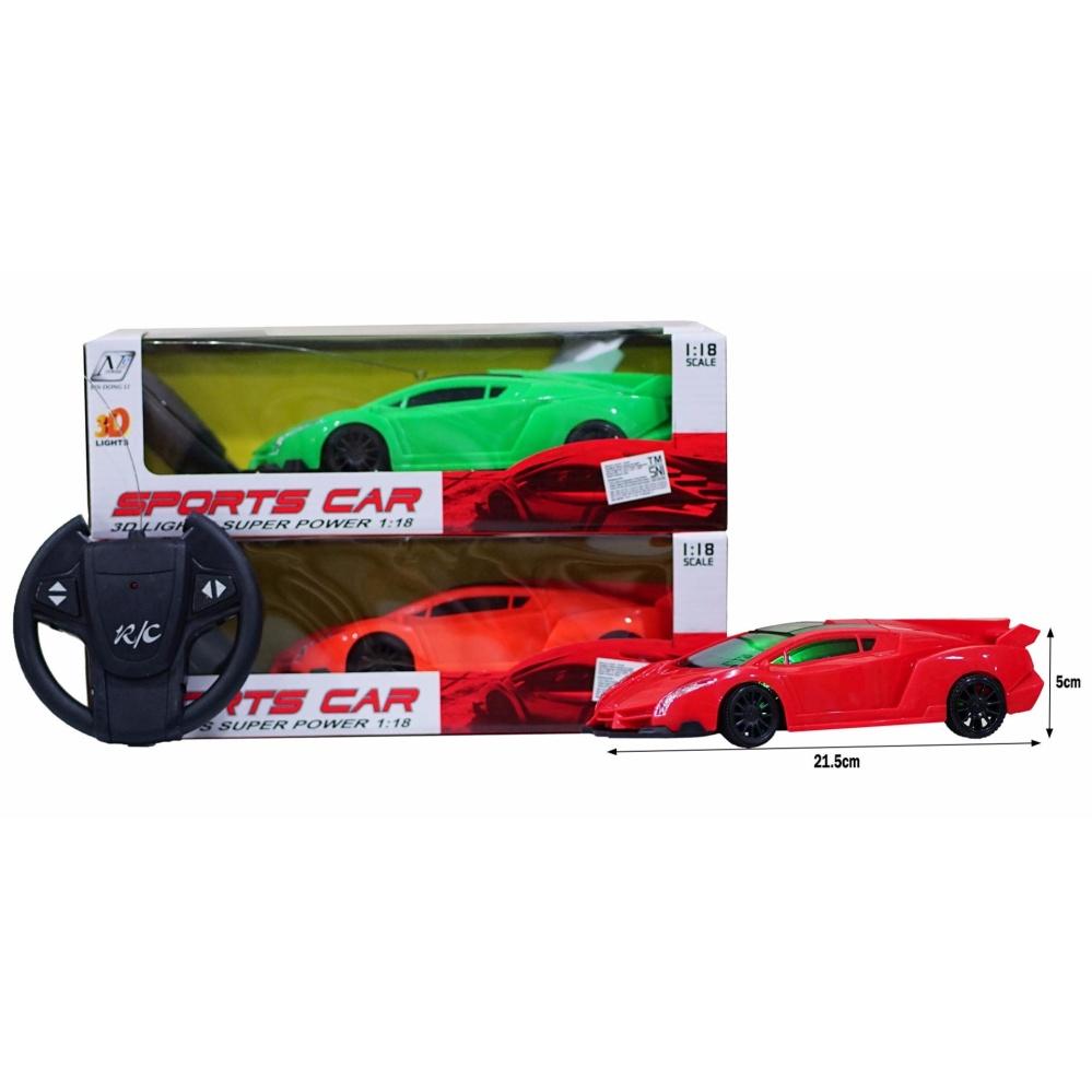 Jual Beli Tm Mainan Anak Rc Mobil Remot Sport Car Lampu 3D Warna Random Jawa Barat