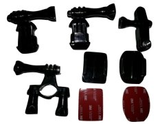 Harga Tmc Bike Helmet And Tube Mount Set For Gopro Xiaomi Yi Hr199 Hitam Baru