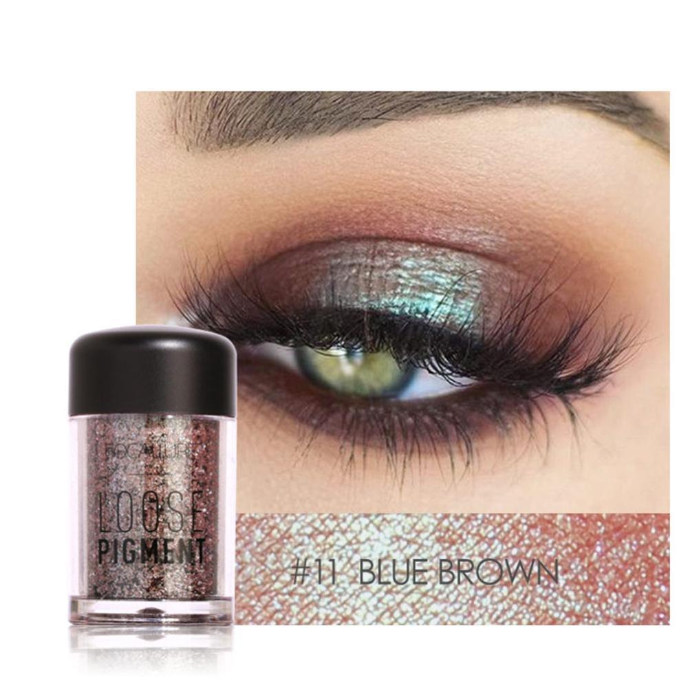 Review Tmishion Modis Glitter Eyeshadow Kecantikan Mata Pigmen Bubuk Bibir Longgar Riasan Alat