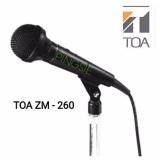 Jual Toa Microphone Kabel Zm 260 Hitam Suara Empuk Toa Asli