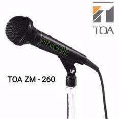 Beli Toa Microphone Kabel Zm 260 Hitam Suara Empuk Kredit