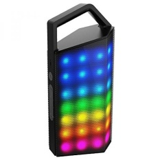 TOBETB Bluetooth Speaker untuk Outdoors LED Subwoofer-Intl