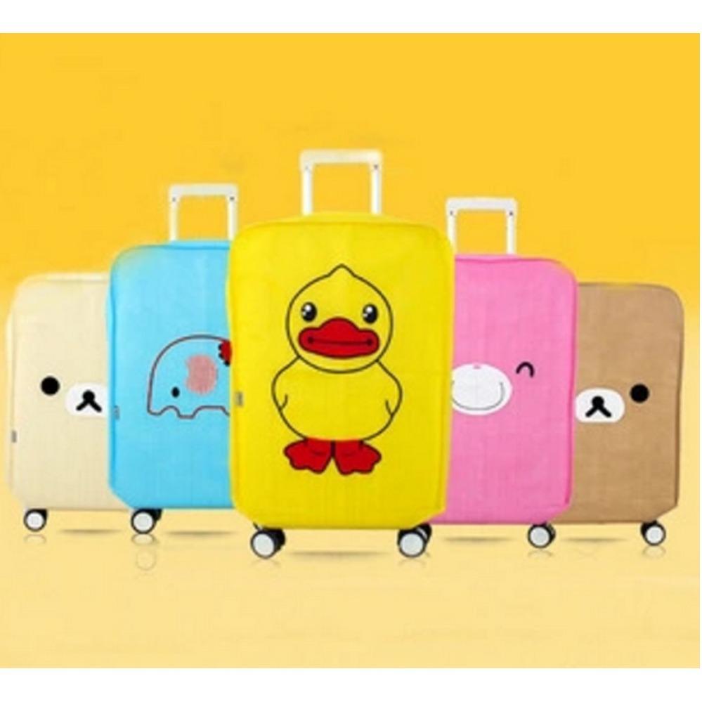 The Cheapest Price Cover Pelindung Koper Kain Motif Kereta Trem 20 Luggage Ito 22 Travel Toko49 New Korean Tebal