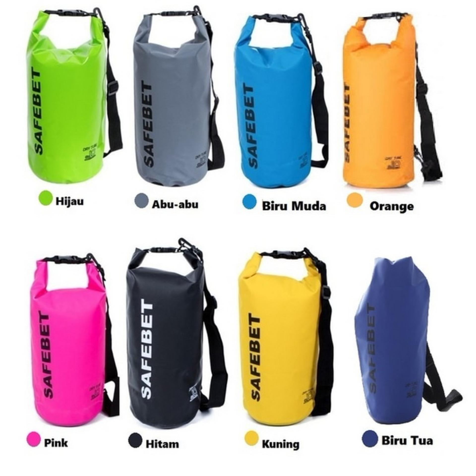 Diskon Toko49 Safebet Waterproof Dry Bag 10 Liter Tas Barang Anti Air Branded