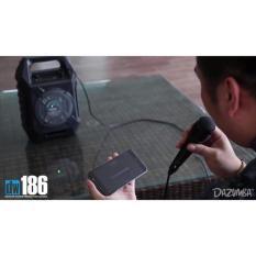 TOKOBANGBOB - SPEAKER EXSTRA BASS DAZUMBA DW-186 BLUETOOTH KARAOKE