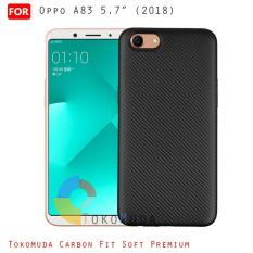 Tokomuda Carbon Fit Soft Shell Oppo A83 5.7inch 2018 Case