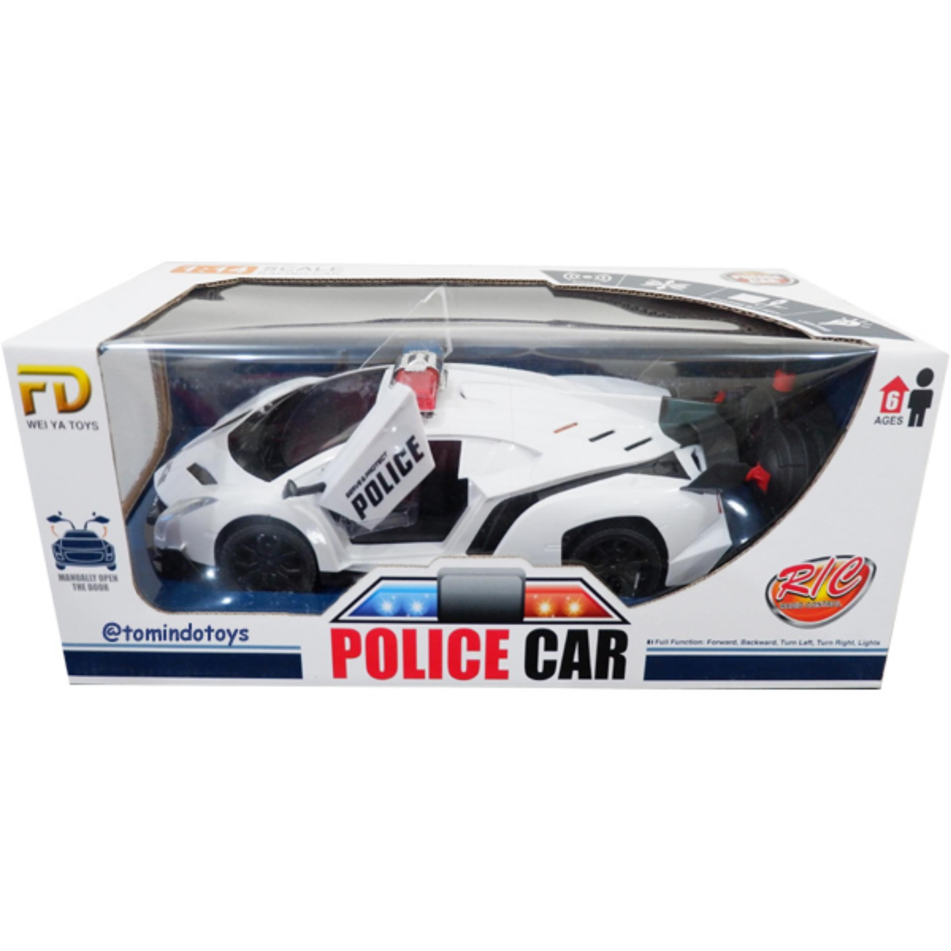 Jual Tomindo Mobil Remote Control Police Car Fd065A Mainan Anak Mobil Remote Mobil Remot Grosir