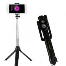 Jual Tongsis 15Cm 3 In 1 Built In Bluetooth Selfie Stick Monopod Tripod For Iphone Smartphone Black Branded