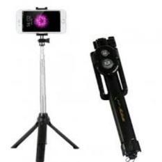 Beli Tongsis 15Cm 3 In 1 Built In Bluetooth Selfie Stick Monopod Tripod For Iphone Smartphone Black Seken