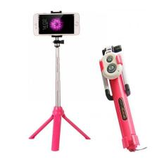 Tongsis 3 in 1 With Bluetooth + Tripod Selfie Stick