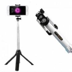 Tongsis 3 in 1 With Bluetooth + Tripod Selfie Stick - Tripod Mini