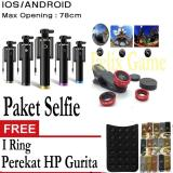 Review Tentang Tongsis Monopod Black Kabel Selfie Stick Fish Eye 3 In1 Gratis Perekat Hp Gurita I Ring
