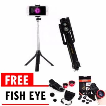 3 In 1 Universal Clip Lens Fisheye Macro Wide. Source · tongsis .
