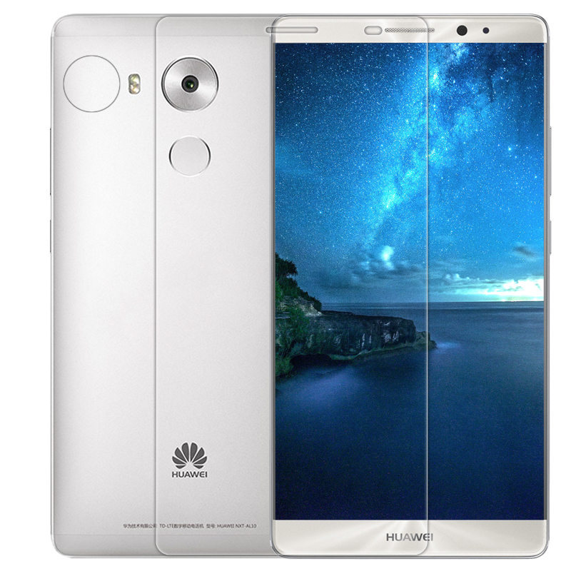 Vn Huawei Ascend Mate 8 Tempered Glass 9H Screen Protector 0.32mm - Anti Crash Film - Bening Transparan