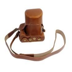 Terbaik Kamera Kasus Penutup Pu Kulit Tas Bahu Strapforcanoneos M3 Cokelat (Kamera Tidak Included) (Hitam) (Luar Negeri)-Internasional