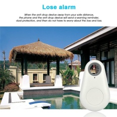 Top Smart Phone Smart Tag Wireless Bluetooth Tracker Child Bag Wallet Pet Key Finder with GPS Locator Anti Lost Alarm System - intl