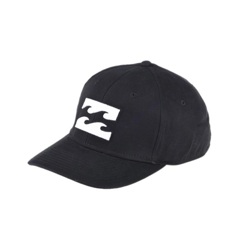 Topi basebal Billabong Logo Black Premium