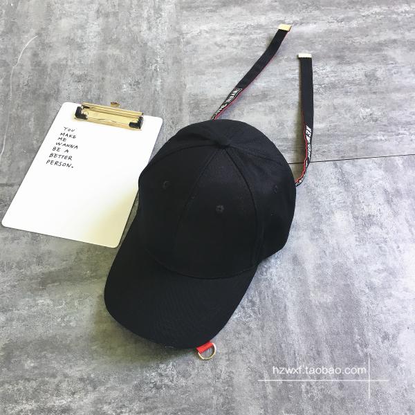 Spesifikasi Topi Bisbol Huruf Bertali Panjang Harajuku Versi Korea Hitam Dan Harga