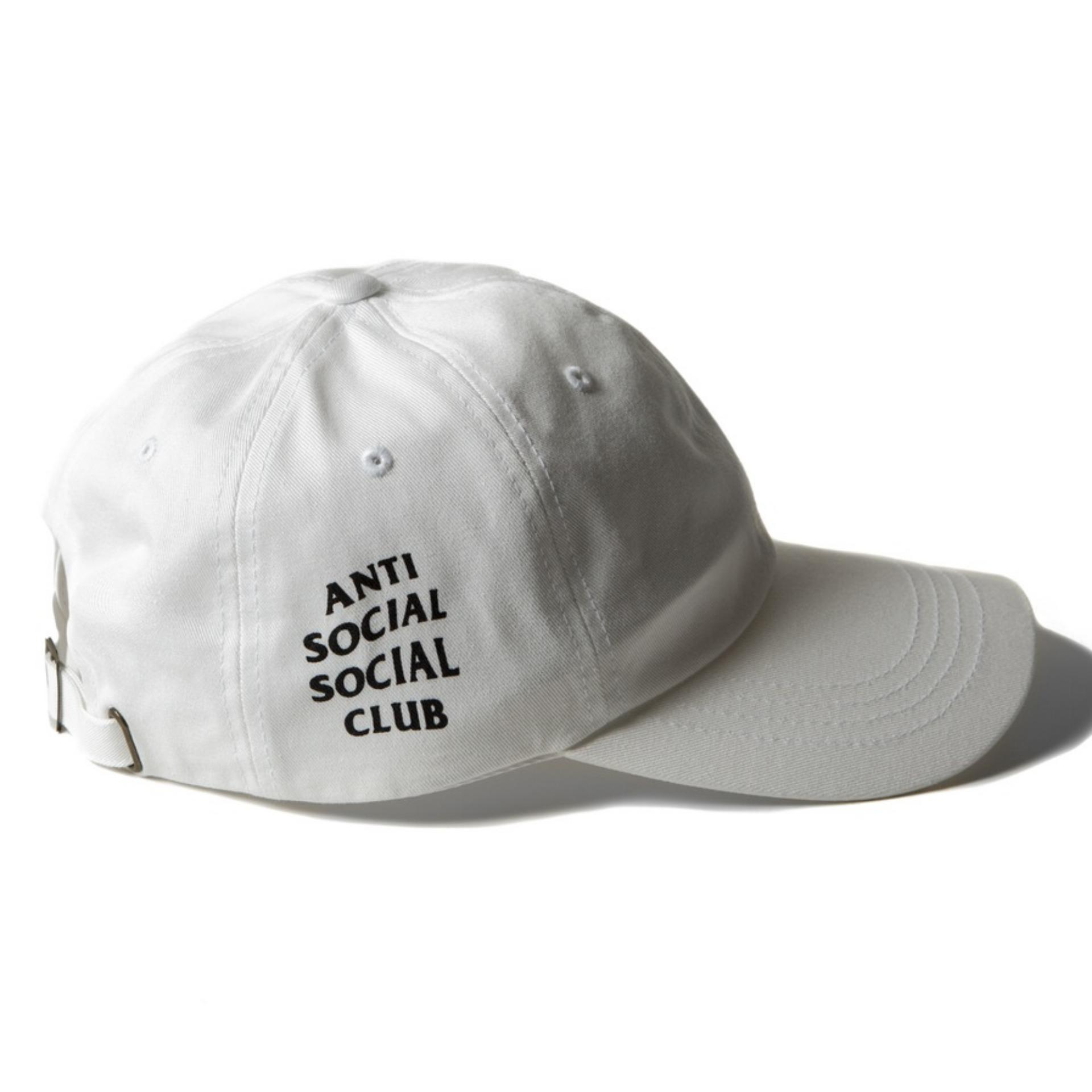 TOPI DISTRO I BASEBALL ANTI SOCIAL SOCIAL CLUB I TOPI ASSC White