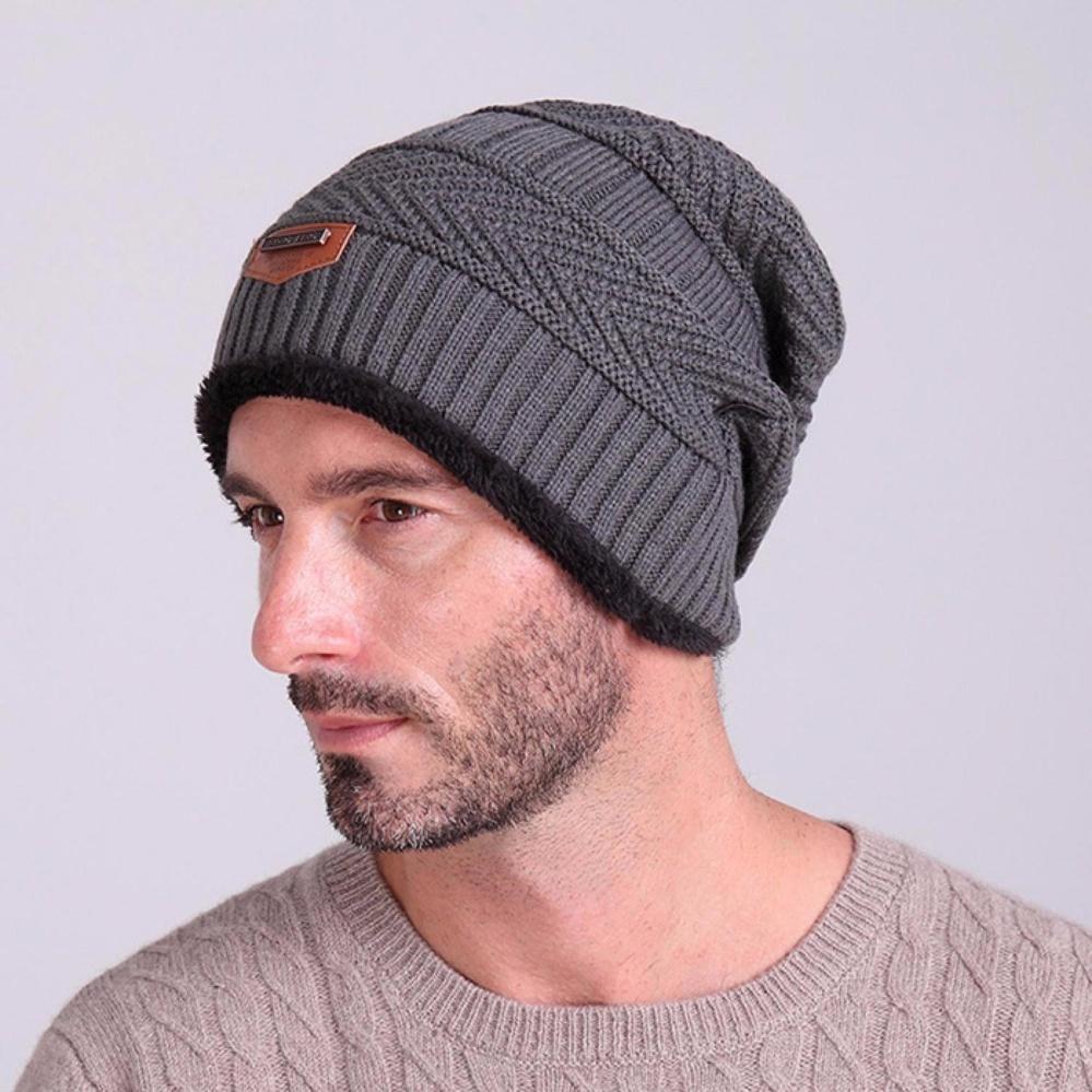 Toko Topi Kupluk Beanie Wool Winter Premium Quality Gray Online