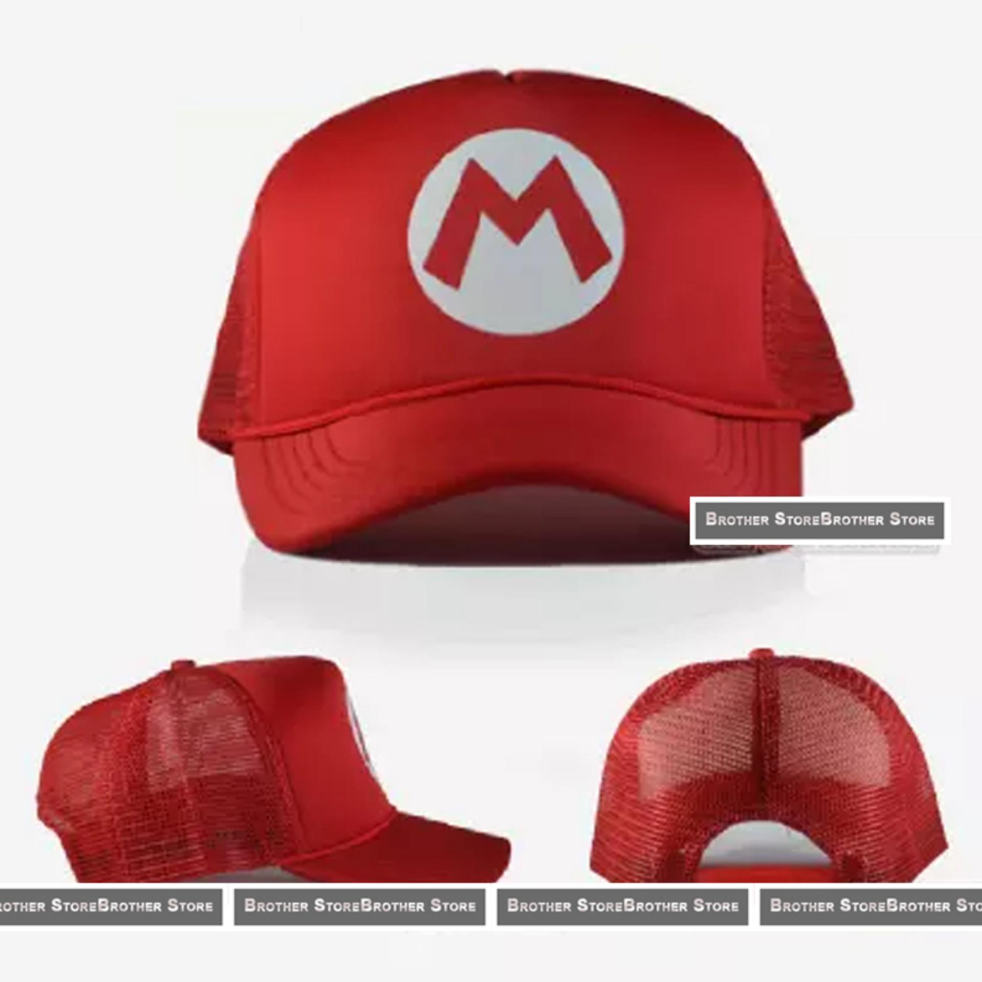 Review Toko Topi Trucker Hat Super Mario Online