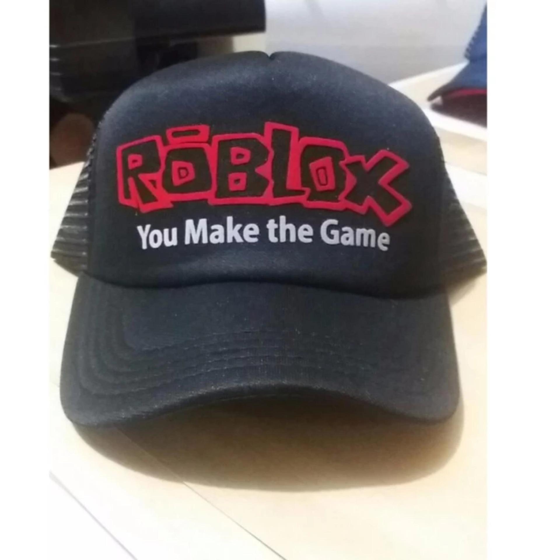 TOPI TRUCKER ROBLOX GAMES - HITAM 85559165be