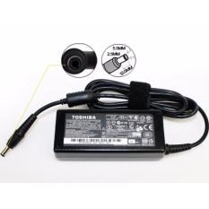 TOSHIBA AC Adaptor Laptop 19V 3.42A Free Kabel Power [Hitam]