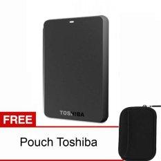 Spesifikasi Toshiba Canvio Basic 1Tb Hitam Pouch Paling Bagus