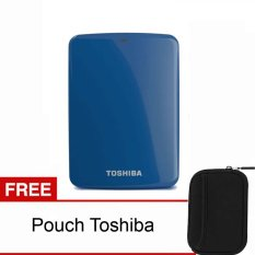 Toko Toshiba Canvio Connect 1Tb Biru Pouch Terlengkap Dki Jakarta