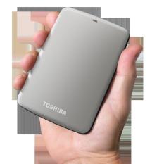 Jual Toshiba Canvio Connect 2Tb Abu Abu Metalic Silver Toshiba Branded