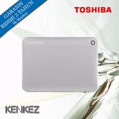 Toshiba Canvio Connect II Hardisk Eksternal 1TB USB3.0 - Silver