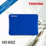 Toko Toshiba Canvio Connect Ii Hardisk Eksternal 500Gb Usb3 Biru Lengkap