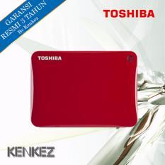 Toshiba Canvio Connect II Hardisk Eksternal 500GB USB3.0 - Merah