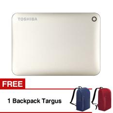 Spek Toshiba Canvio Connect Ii Portable Hard Drive 1Tb Putih Free Backpack Targus Indonesia
