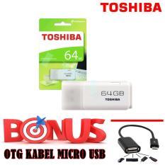 TOSHIBA Flasdisk 64GB + FREE OTG Kabel Micro USB
