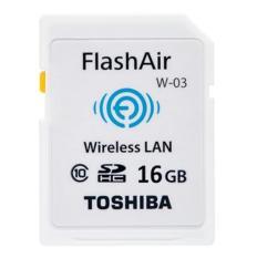 Jual Toshiba Flashair 16Gb W 03 Wifi Sd Sdhc Card Wireless Lan Flash Air Lengkap