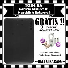 Toko Toshiba Harddisk Eksternal 1Tb Canvio Ready Gratis Usb Otg Reader Android Kabel Charger Micro Android Online Terpercaya