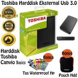 Review Toshiba Hdd External Canvio Basic Usb 3 1 Tb Hitam Free Pouch Harddisk Tas Waterproof Hp Toshiba