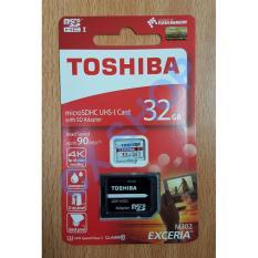 Harga Hemat Toshiba Microsd 32Gb Exceria Uhs I 90Mb S Sd Adapter