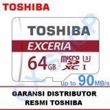Toko Toshiba Microsd 64Gb Exceria Uhs I 90Mb S Sd Adapter Online Di Dki Jakarta