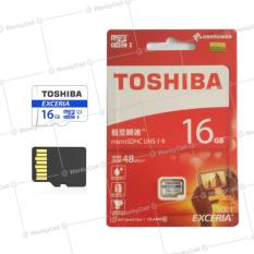 Toshiba Microsdhc Speed 48Mb S Uhs I Card Non Adapter 16Gb Asli