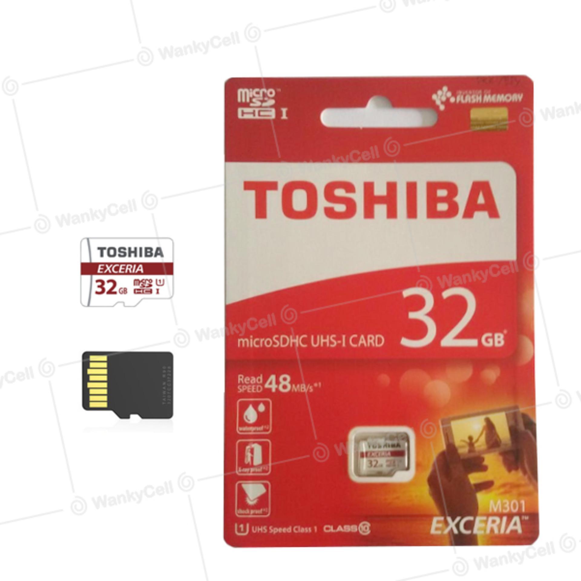 Miliki Segera Toshiba Microsdhc Speed 48Mb S Uhs I Card Non Adapter 32Gb