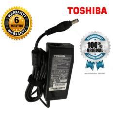 TOSHIBA Original Charger Adaptor Laptop Notebook 19v 3.42A Kepala Hitam Limited (5.5*2.5)