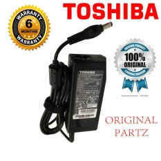 TOSHIBA Original Charger Adaptor Notebook Laptop 19v 3.42A Kepala Hitam Limited (5.5*2.5)