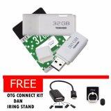 Beli Toshiba Usb Flash 32 Gb Free Otg Connect Kit Iring Stand Toshiba Murah